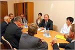 Визит делегации Либерецкого края Чешской Республики в ОГУ. Открыть в новом окне [72 Kb]