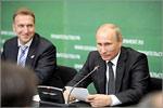 Игорь Шувалов и Владимир Путин. Открыть в новом окне [33 Kb]