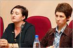 Балажан Карчаева и Наталья Янкина. Открыть в новом окне [59 Kb]