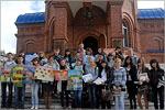 Студенты-волонтеры ОГУ. Открыть в новом окне [79 Kb]