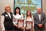 В центре Софья Елизарова и Ильмира Баширова. Открыть в новом окне [96 Kb]