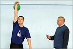 Эдуард Булатасов и Владимир Баранов, завкаф. физвоспитания. Открыть в новом окне [58 Kb]