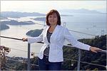 Остров Сикоку. Смотровая площадка Киродзан. Вид на Симанами Кайдо. Открыть в новом окне [79 Kb]
