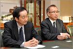 Ивао Охаси и Мичихиро Хамано. Открыть в новом окне [75 Kb]