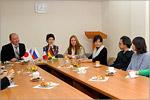 Встреча Сергея Летуты с иностранными студентами и преподавателями. Открыть в новом окне [79 Kb]