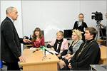 Встреча Гарри Бардина со студентами ОГУ. Открыть в новом окне [79 Kb]