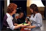 Слева— Татьяна Тарасова, декан геолого-географического факультета ОГУ. Открыть в новом окне [77 Kb]