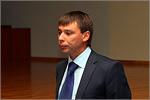 Дмитрий Погорелов, ответственный секретарь приемной комиссии ОГУ. Открыть в новом окне [54 Kb]