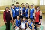 Женская сборная ОГУ по волейболу. Открыть в новом окне [89 Kb]