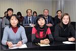 Встреча с магистрантами из Казахстана. Открыть в новом окне [83 Kb]