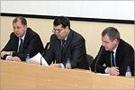 Владимир Ковалевский, Михаил Бальзанников, Борис Лупахин. Открыть в новом окне [64 Kb]