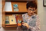 Ирина Шевченко, заведующий отделом редких и ценных книг НБ ОГУ. Открыть в новом окне [93 Kb]