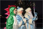Дракоша, Снегурочка и Дед Мороз. Открыть в новом окне [84 Kb]