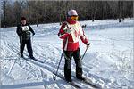 Соревнования по лыжному спорту. Открыть в новом окне [79 Kb]
