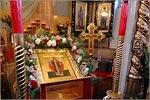 В храме-часовне Святой мученицы Татианы при ОГУ. Открыть в новом окне [68 Kb]