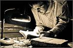 Работа Алексея Боженко 'Заядлый читатель', 2место. Открыть в новом окне [73 Kb]