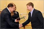 Владимир Ковалевский и Никита Косарев. Открыть в новом окне [77 Kb]