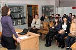 Встреча студентов ОГУ с поэтами Вадимом Бакулиным и Верой Арнгольд. Открыть в новом окне [78 Kb]