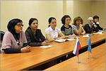 Cтажировка магистрантов из Казахстана. Открыть в новом окне [76 Kb]
