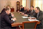 Встреча с делегацией Уральского госуниверситета путей сообщения. Открыть в новом окне [78 Kb]