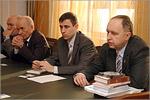 Встреча с делегацией Уральского госуниверситета путей сообщения. Открыть в новом окне [80 Kb]