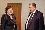 Ольга Лесина и Владимир Ковалевский. Открыть в новом окне [79 Kb]