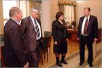 Встреча Владимира Ковалевского с Ольгой Лесиной. Открыть в новом окне [78 Kb]