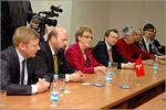 Визит делегации Швейцарии в ОГУ. Открыть в новом окне [74 Kb]