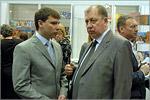Дмитрий Погорелов, сотрудник ОГУ, и Владимир Ковалевский. Открыть в новом окне [76 Kb]