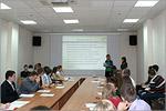 Работа секции МАГУ на студенческой конференции. Открыть в новом окне [79 Kb]