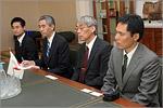Встреча с делегацией из Университета Хиросимы. Открыть в новом окне [73 Kb]