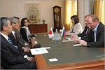 Встреча с делегацией из Университета Хиросимы. Открыть в новом окне [74 Kb]