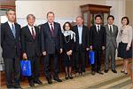 Встреча с делегацией из Университета Хиросимы. Открыть в новом окне [82 Kb]
