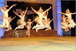 Юбилейный концерт народного коллектива эстрадного танца 'Жемчужинка'. Открыть в новом окне [78 Kb]
