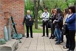 Встреча студентов с М.Изместьевым в выставочном комплексе 'Салют, Победа!'. Открыть в новом окне [79 Kb]