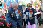 Возложение цветов в память о погибших в ВОВ. Открыть в новом окне [73 Kb]