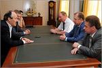 Встреча с Рамазаном Абдулатиповым. Открыть в новом окне [78 Kb]