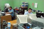 Отдел ремонта и обслуживания информационно-вычислительной техники ЦИТ. Открыть в новом окне [81 Kb]