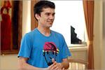 Павел Гайсин, студент математического факультета ОГУ. Открыть в новом окне [69 Kb]