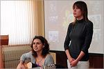 Встреча студентов ОГУ с Р.А.Рафиковой. Открыть в новом окне [78 Kb]