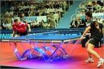 Финальный матч Лиги европейских чемпионов по настольному теннису. Открыть в новом окне [71 Kb]