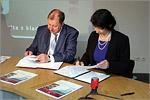 Подписан договор с Техническим университетом в Либерце. Открыть в новом окне [54 Kb]