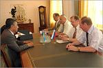 Встреча с делегацией из Казахстана. Открыть в новом окне [72 Kb]