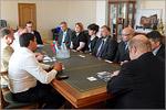 Визит делегации из Финляндии. Открыть в новом окне [79 Kb]
