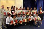 Церемония вручения дипломов выпускникам Аэрокосмического института. Открыть в новом окне [79 Kb]