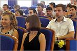 Церемония вручения дипломов выпускникам Аэрокосмического института. Открыть в новом окне [76 Kb]
