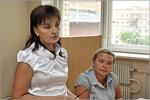 Татьяна Яковлева и Ирина Зацепина. Открыть в новом окне [73 Kb]