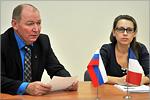 Сергей Летута и Юлия Гареева. Открыть в новом окне [77 Kb]