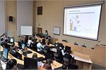 Мультимедийная лекция по химии для школьников города и области. Открыть в новом окне [75 Kb]