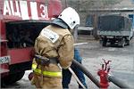 Экскурсия ФПБИ в пожарную часть. Открыть в новом окне [77 Kb]